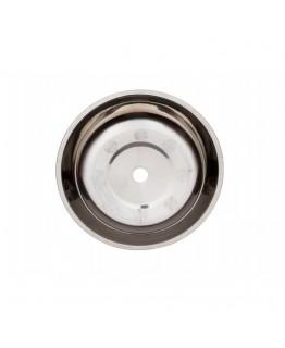 Тарелка металлическая с кругляшками 15.3*2.5(1,8)см