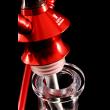 Кальян Kaya ELOX 30CM Clear Dark Tradi-Wood Red 2S - фото 4