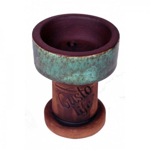 Чаша Gusto Bowls Rook №10 Cyan