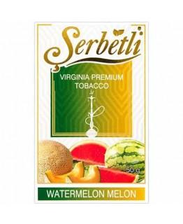 Табак SERBETLI Watermelon Melon 50gr
