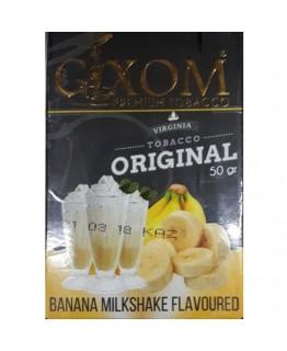 Табак GIXOM Banana Milkshake 50 гр
