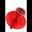 Кальян Kaya ELOX 30CМ Clear Alum Plug Red 2S - фото 3