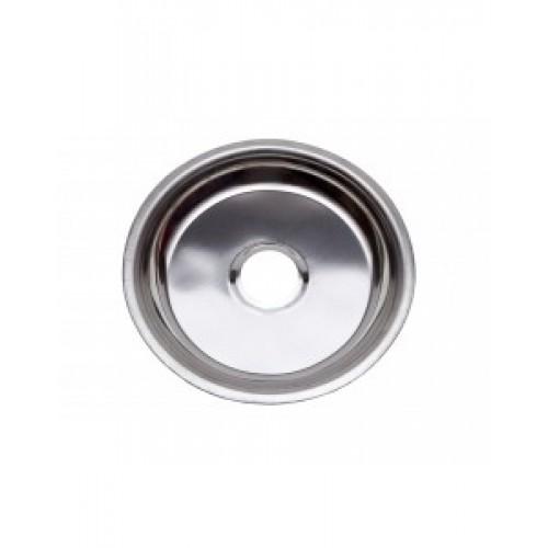 Тарелка металлическая с кругляшками 19.5*3.5(4)см