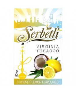 Табак SERBETLI Coconut Lemon 50gr