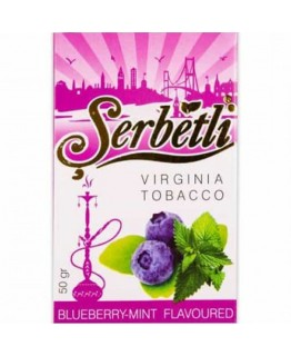 Табак SERBETLI Blueberry Mint 50gr