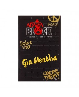 Табак ADALYA BLACK Gin Mentha 50 гр