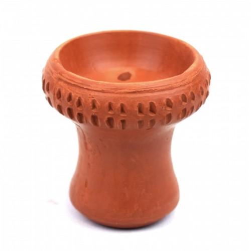 Чаша с красной глины Paradise декоративная