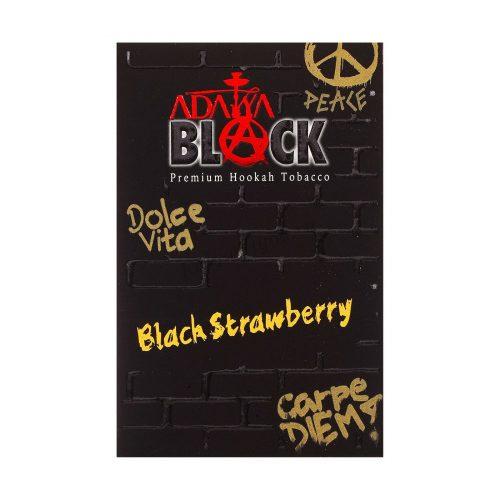 Табак ADALYA BLACK Black Strawberry 50 гр