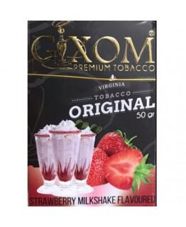 Табак GIXOM Strawberry Milkshake 50 гр