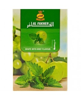 Табак AL FAKHER Grape With Mint 50 гр