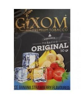 Табак GIXOM Ice Banana Strawberry 50 гр