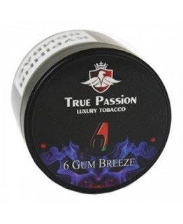 Табак Акциз TRUE PASSION 6 Gum Breeze 100 гр