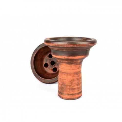 Чаша из красной глины Тюльпан