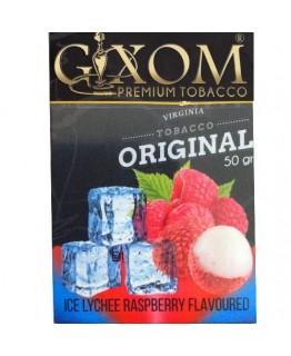 Табак GIXOM Ice Lychee Raspberry 50 гр