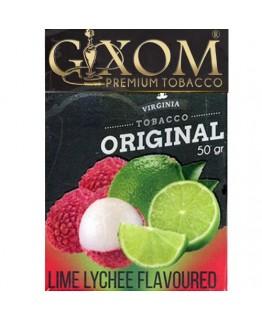 Табак GIXOM Lime Lychee 50 гр