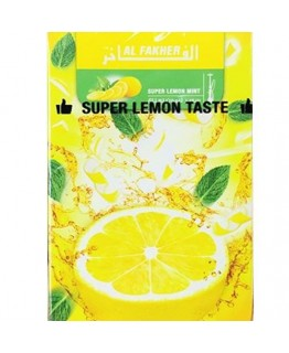 Табак AL FAKHER Super Lemon Mint 50 гр
