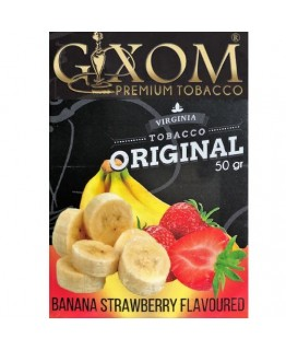 Табак GIXOM Banana Strawberry 50 гр