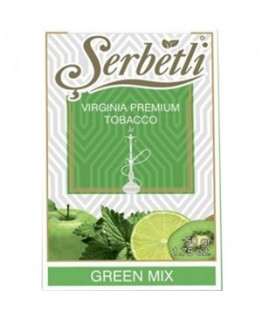 Табак SERBETLI Green mix 50gr
