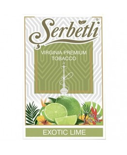 Табак SERBETLI Exotic Lime 50gr