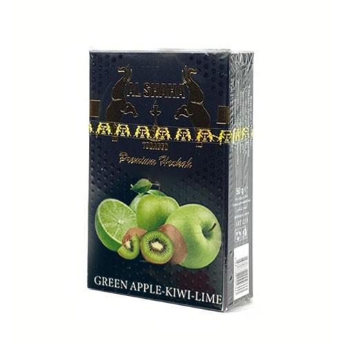 Табак AL SHAHA Green Apple Kiwi Lime 50 гр
