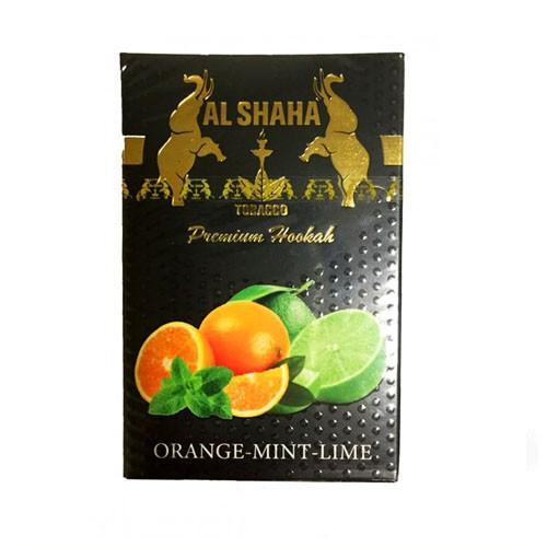 Табак AL SHAHA Orange Mint Lime 50 гр