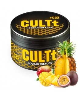 Табак CULTt C32 Mango Passion Fruit Pineapple 100 гр
