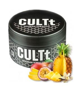 Табак CULTt C9 Mango Passion Fruit Pineapple Vanilla 100 гр