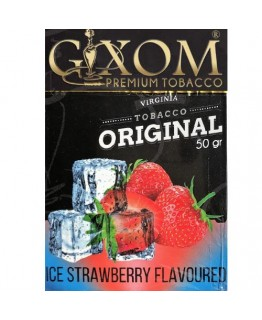Табак GIXOM Ice Strawberry 50 гр