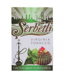 Табак SERBETLI Cactus Mint 50gr