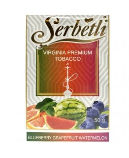 Табак SERBETLI Blueberry Grapefruit Watermelon 50gr