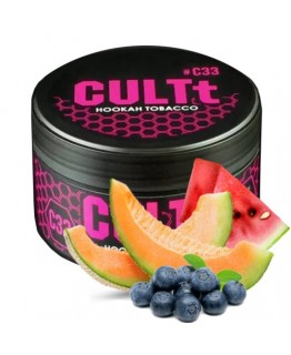 Табак CULTt C33 Watermelon Melon Blueberry Ice 100 гр