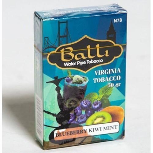 Табак BALLI Blueberry Kiwi Mint 50 gr