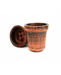 Чаша из красной глины Ванс