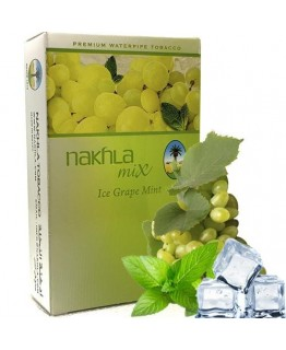 Табак NAKHLA Mix Ice Grape Mint 50 гр