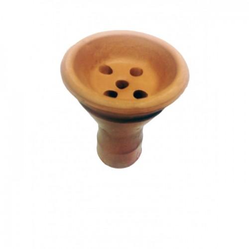 Чаша глиняная для кальяна 8,5х7,5х1,5см