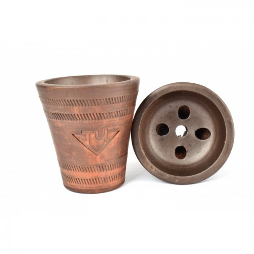 Чаша с красной  глины ТЧ №1