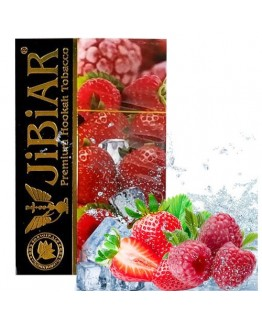 Табак Jibiar Ice Strawberry Raspberry 50 гр
