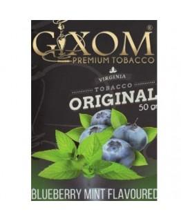Табак GIXOM Blueberry Mint 50 гр