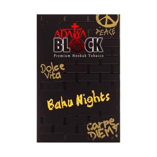 Табак ADALYA BLACK Baku Nights 50 гр