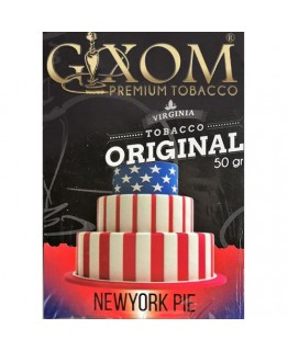 Табак GIXOM New York Pie 50 гр