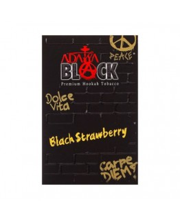 Табак ADALYA BLACK Black Strawberry 50 гр