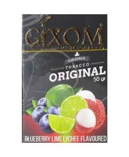 Табак GIXOM Blueberry Lime Lychee 50 гр