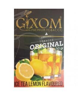 Табак GIXOM Ice Tea Lemon 50 гр