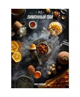Табак Daily Hookah Лимонный пай 40 г