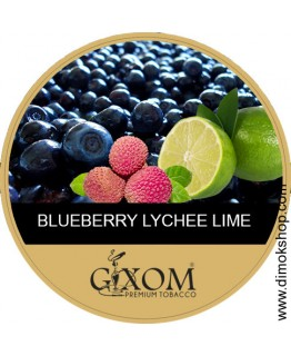 Табак GIXOM Blueberry Lime Lychee 200 гр