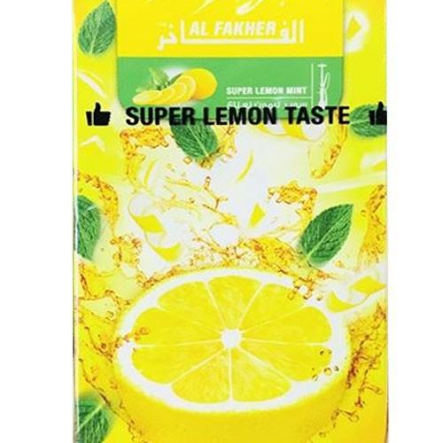 Табак AL FAKHER Super Lemon Mint 50 гр