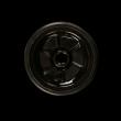 Чаша силиконовая + керамика Kaya Silscone Tobacco Bowl Lamella-Funnel inste Black (Черний) - фото 3