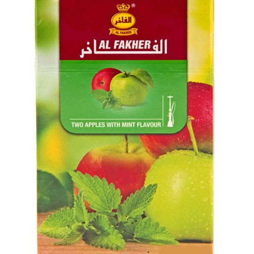 Табак AL FAKHER Two Apple with Mint