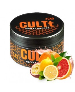 Табак CULTt C43 Passion Fruit Lime Grapefruit 100 гр