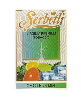 Табак SERBETLI Ice Citrus Mint 50gr